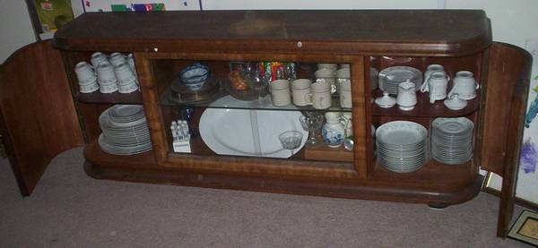 Photo Very Nice Antique German China Buffet  fine china, DELIVERY...OFFER - $2500 (Mechanicsburg)