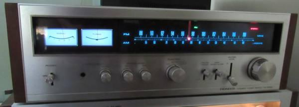 Vintage Pioneer TX-9100 AM/FM Stereo Tuner Working Wood ...
