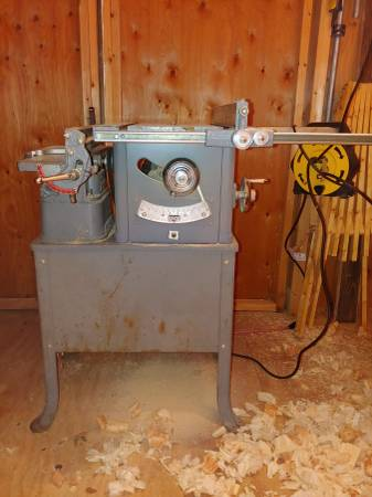 Photo 1954 Delta Rockwell  Homecraft Table Saw  Jointer Combo Machine - $200 (Staunton)