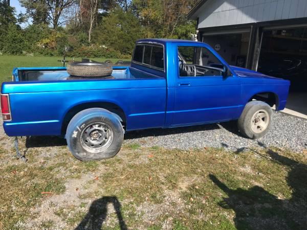 Photo 1985 Chevy S-10 - $1,800 (Crimora)