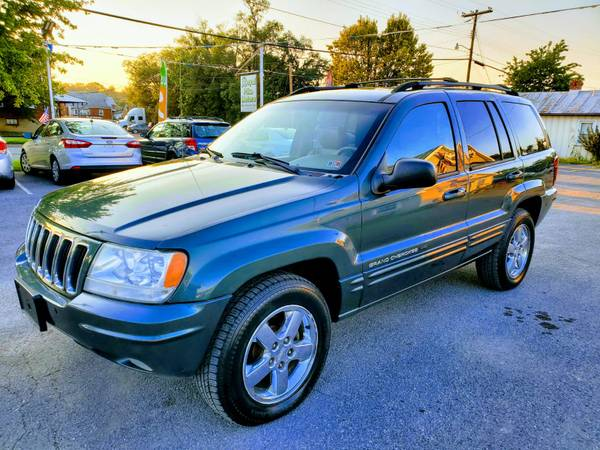 Photo 2003 JEEP GRAND CHEROKEE 4X4 LIMITEDFREE 3 MONTHS WARRANTY - $5,990 (ROYAL PIKE MOTORS)