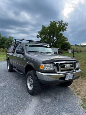 Photo 2006 Ford Ranger 5spd 4x4 - $6,000 (Harrisonburg)
