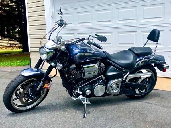 Photo 2007 Yamaha Road Star Warrior 1700 For Sale - $7,500 (Charlottesville)