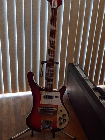 Photo 2009 Rickenbacker Bass 4003 Fireglo - $1,500 (Culpeper, VA)