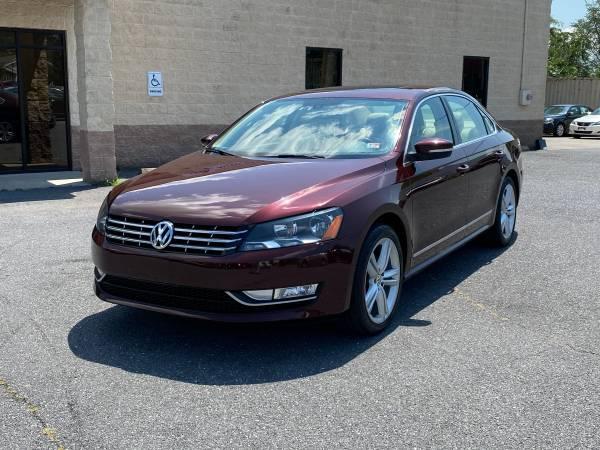 Photo 2013 Volkswagen Passat TDI SEL - $11,550 (Harrisonburg, VA)