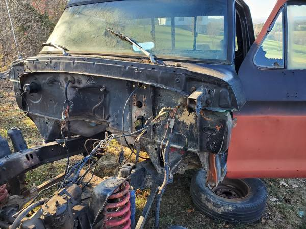 73-79 Ford truck cab - $500
