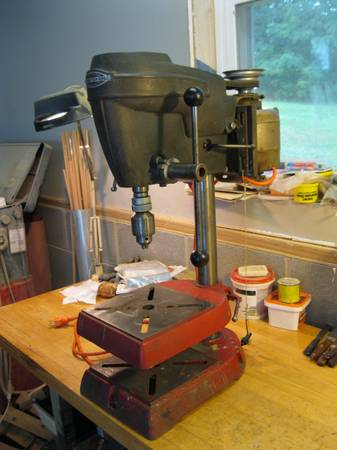 Photo Craftsman 12quot Drill Press - $150 (Singers Glen)