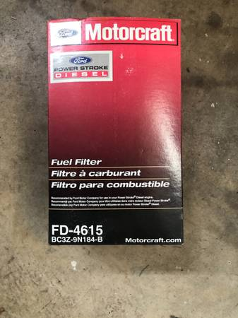 Photo Fuel Filter Kit for 6.7 Ford Diesel - $30 (Luray)