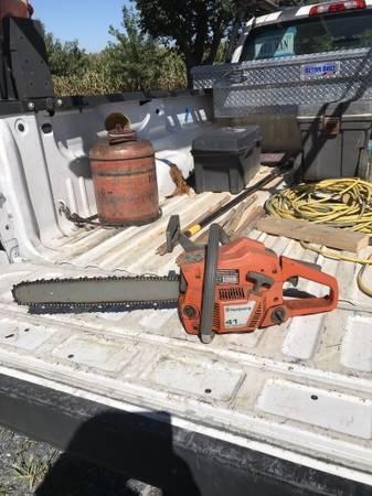 Photo Husqvarna chainsaw - $125 (mt. Jackson va)
