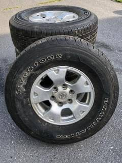 Photo Like New Tacoma Rims and Firestone Tires - $550 (Harrisonburg)