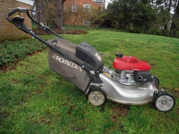 Photo SSOLD - Honda 21quot Smart Drive mower - $225 (Bridgewater)