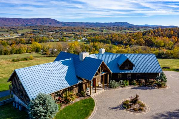 Photo Shenandoah Valley Executive Log Home 30 Acres (Harrisonburg VA)