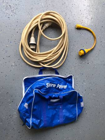 Photo Shore Power Cord, Adapter, carrying case - $270 (Mineral)