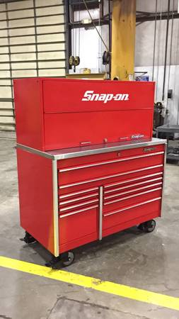 Photo Snap On toolbox - $3800