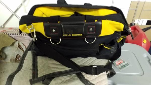 Photo Stanley fatmax tool bag used - $20 (McGaheysville)
