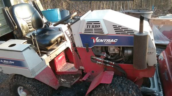 Photo ventrac mowertractor turbo diesel - $1 (Luray)