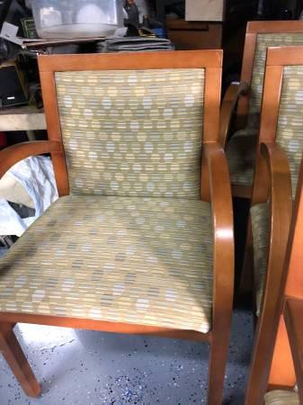Photo 10 Waitngroom style chairs $5 ea. (Orange)