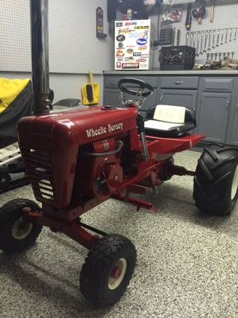 Photo 1967 Wheel Horse Lawn Ranger all Original - fully Restored - $750 (Central CT)