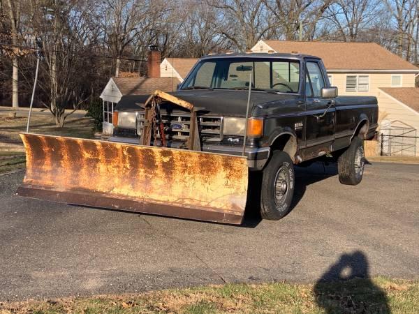Photo 1987 Ford F-350 xlt 460 w plow - $1,500 (Windsor)
