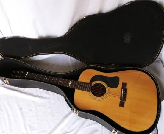 Photo 1989 Washburn D18S Wasburn Limited Edition Acoustic Guitar - $325 (Windsor Locks)