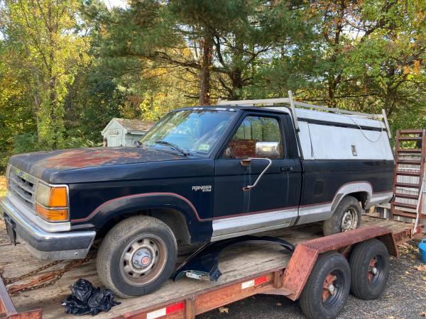 Photo 1989 ranger 8 ft bed 2 wheel . 99.9 rust free - $500 (meriden)