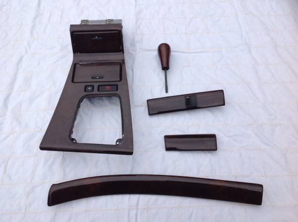 Photo 1995-2001 E38 BMW 740i 740il 750il center console, shifter, dash trim - $250 (West Hartford)