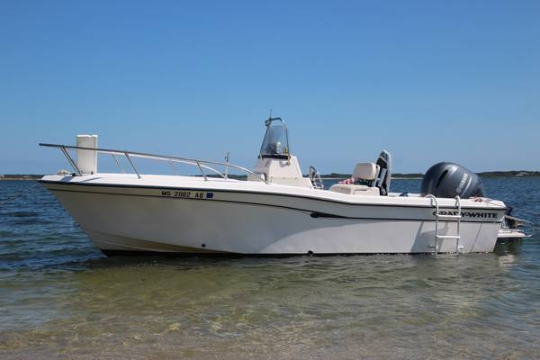 Photo 2001 Center Console Grady White 209 Escape w new engine - $24900 (Falmouth ma)