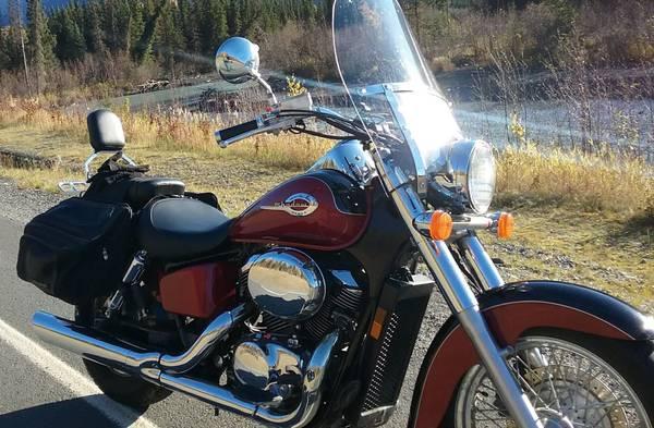 Photo 2002 Honda Shadow American Classic Edition - $3,000 (COVENTRY, CT)