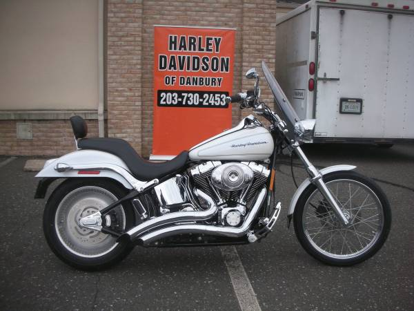 Photo 2004 FXSTDI Softail Deuce wNew Tires (4514) - $9,995 (Danbury,CT)