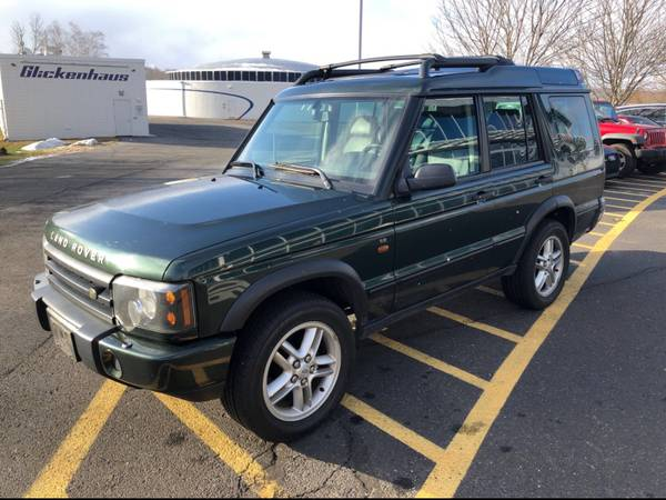 Photo 2004 Land Rover Discovery II SE, complete service records 100 mint - $6,750 (FairfieldBridgeport)