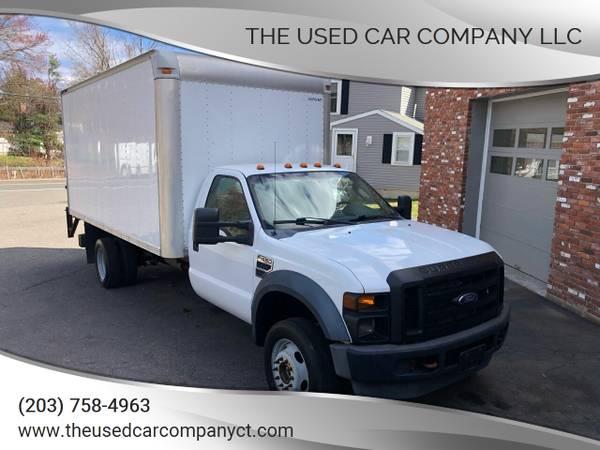 Photo 2008 Ford F-450 XL Box TruckLift Gate 4X4 - $13,995 (New Haven)