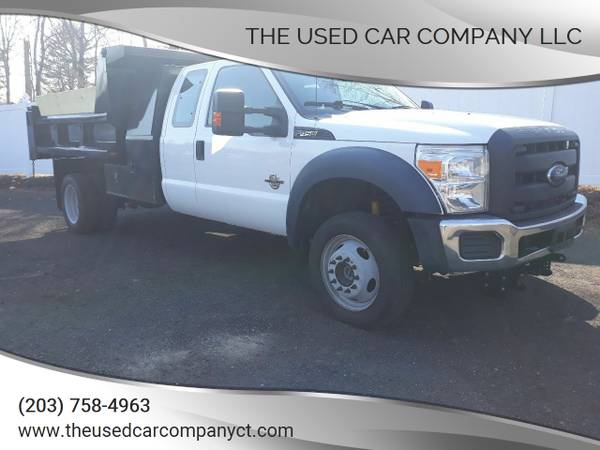 Photo 2013 Ford F450 SD Dump Truck Clean CarFax - $38,495 (New Haven)