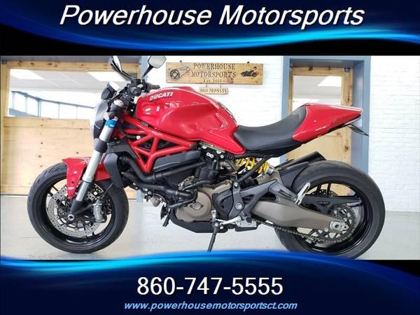 Photo 2015 Ducati MONSTER 821 ABS - $10,477 (PLAINVILLE)