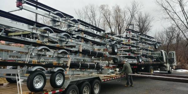 Photo 2021 Load RiteVentureYacht Club Galvanized Pontoon Boat trailers  - $1,999 (Pittsfield, MA.)