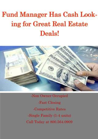 Photo ARE YOU LOOKING FOR MONEY FOR A REAL ESTATE DEAL (Newington)