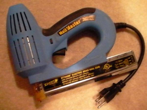 Photo Arrow ET100M Electric BradStaple Nail Gun - $30 (Bristol, CT)