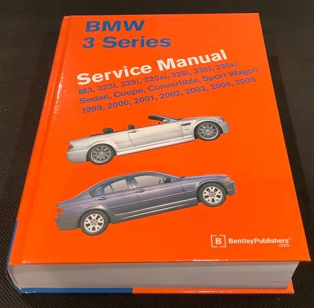 Photo BMW 3 Series Service Manual - $65 (Simsbury)