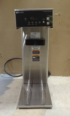 Photo Bunn IC3-DBC Commercial Coffee and Tea Brewer PN 45100.0100 - $200 (Terryville)
