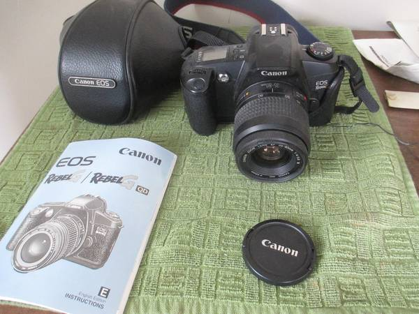 Photo Canon Eos Rebel G 35mm Camera - $75 (West Hartford)