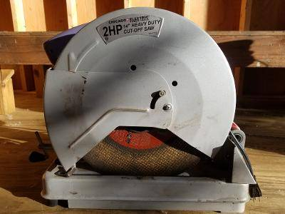 Photo Chicago Electric Cut-Off Saw - $100 (Windsor)