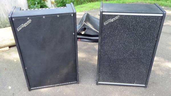 Photo Cordovox tone generator  with matching speaker  300watts - $250 (tolland county ct.)