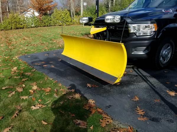 Photo Fisher Snow Plow - $1,900 (Burlington Ct)