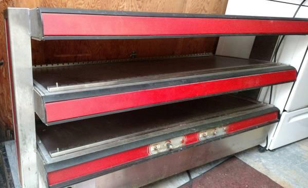 Photo Heated food merchandiser  case grab n go - $100 (Windham)