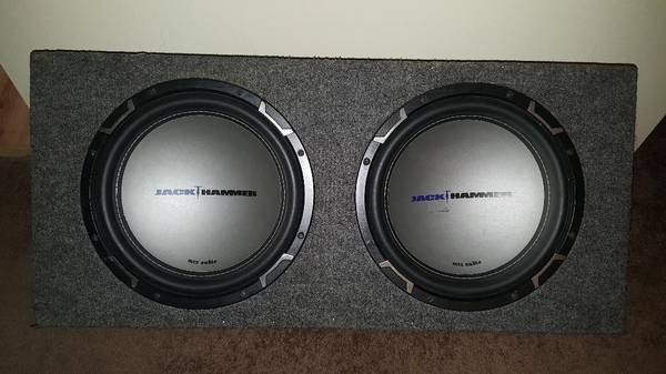Photo Jack Hammer MTX Audio 12quot Dual Subwoofer - $160 (Enfield)