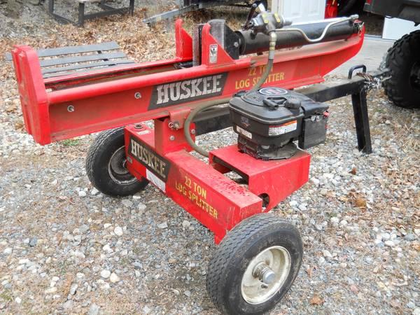 Photo Log Splitter runs good - $800 (Monson)