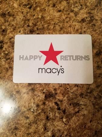 Photo Macy39s gift card ($19.56) - $15 (Ellington)