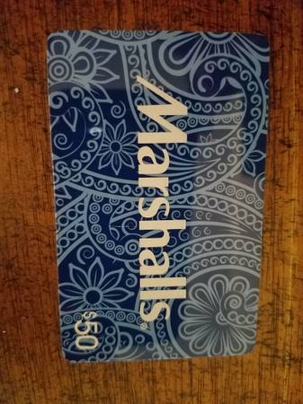 Photo Marshall39s Gift Card ($50) - $45 (Ellington)