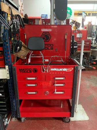 Photo Matco 4 Drawer Tool Cart Rolling Tool Box - $575 (Middletown)