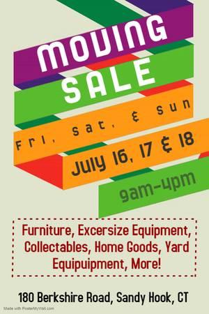 Photo Moving Sale (Sandy Hook)