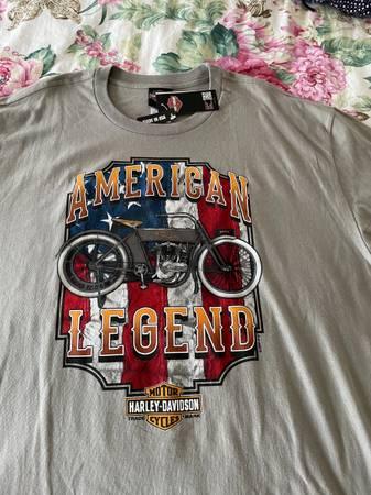 Photo New Harley Davidson T-Shirts 2XL $20 Each - $20 (East Windsor)